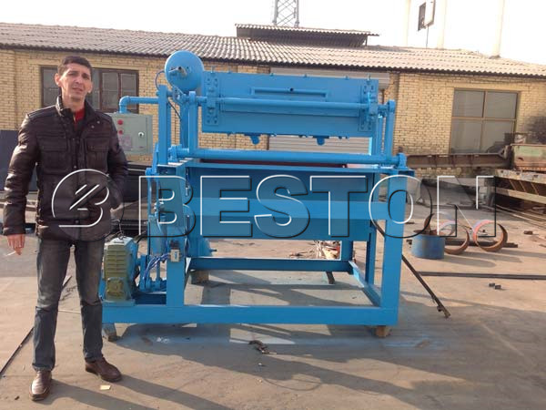 Beston Egg Tray Making Machine For Sale