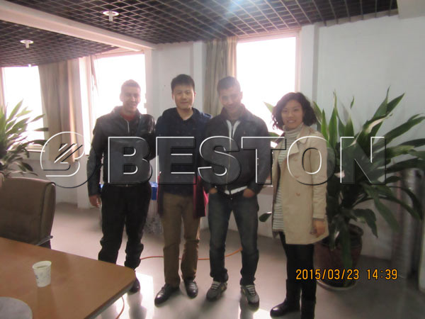 customers visiting Beston