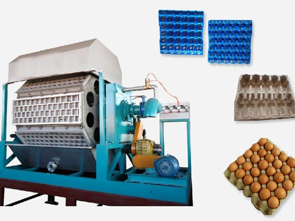 egg trays making machine