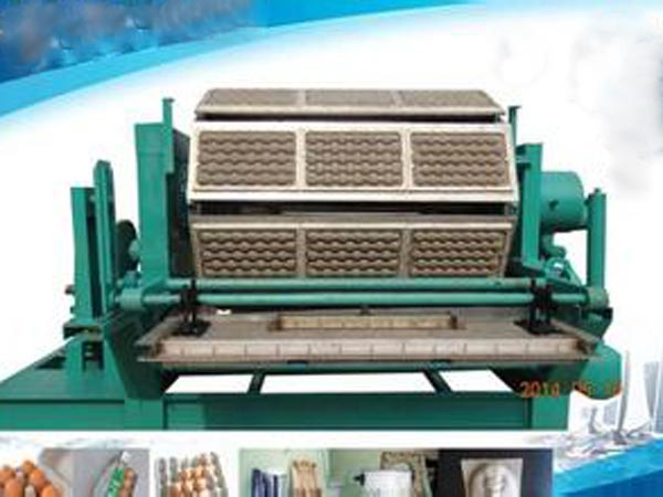 5000 pcs egg tray making machine