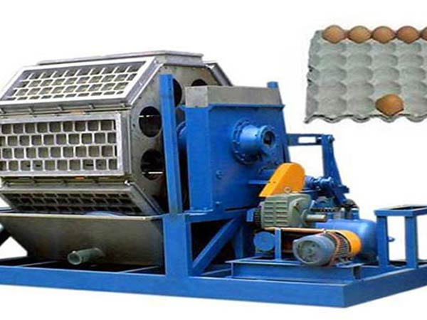 top automatic egg tray making machine