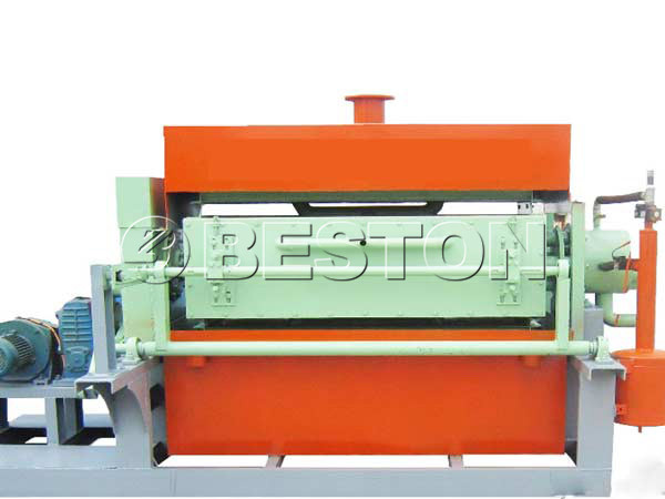 1000pcs beston egg tray machine