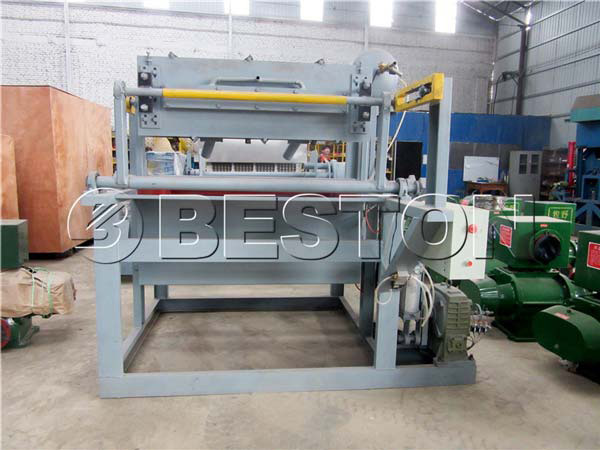 1500pcs beston egg tray machine