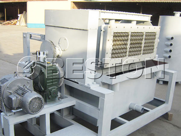2000pcs beston egg tray machine