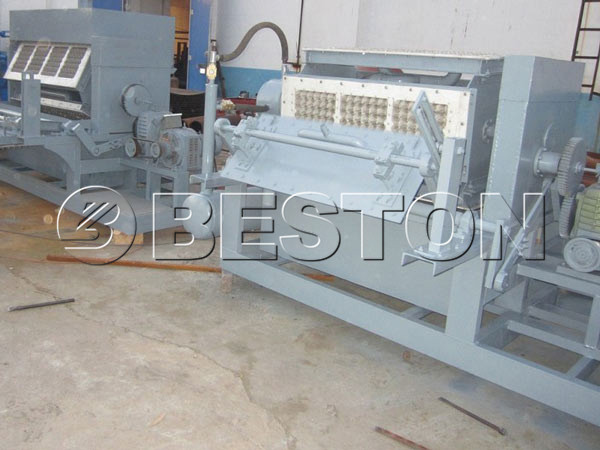 2500pcs beston egg tray machine