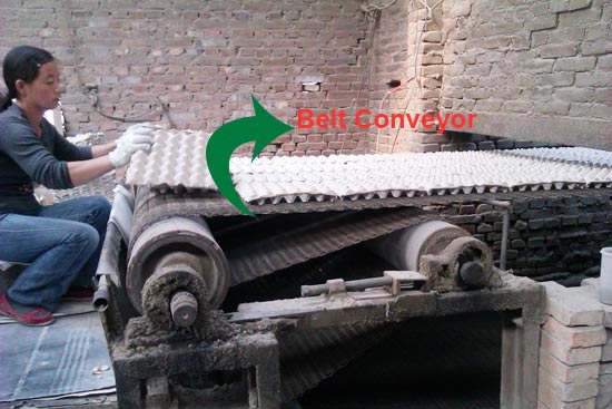 Belt-converyor Automatic Brick Drying Line