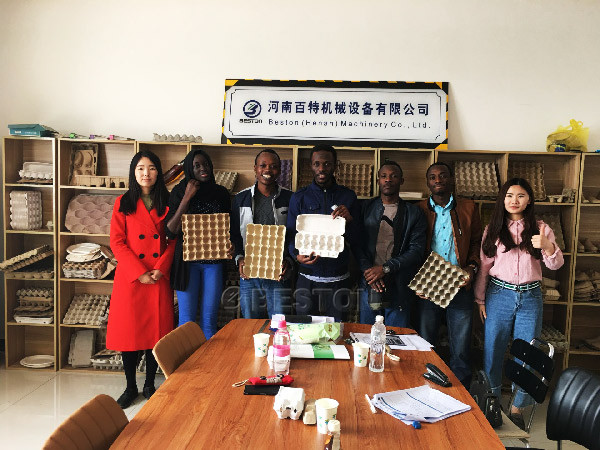 Mali Customers Visit Our Factory