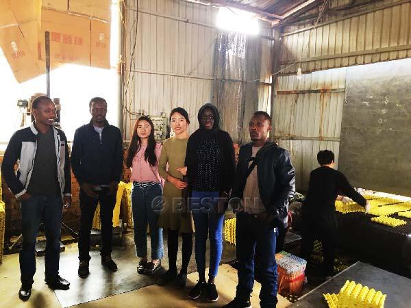 Mali Customers Visit Working Scene