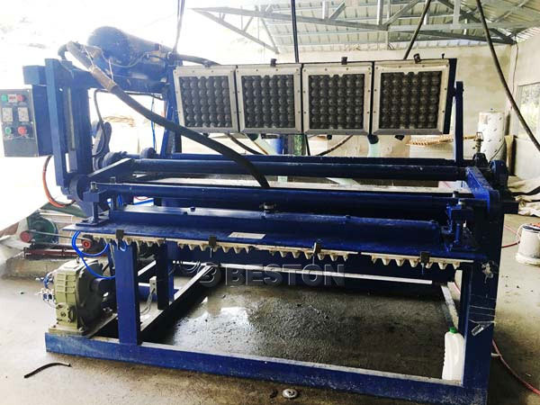 Beston 1500pcs Egg Tray Machine For Sale