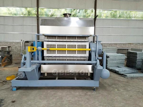 Beston 2500pcs Egg Tray Machine