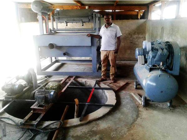 Install Egg Tray Machine in Tanzania