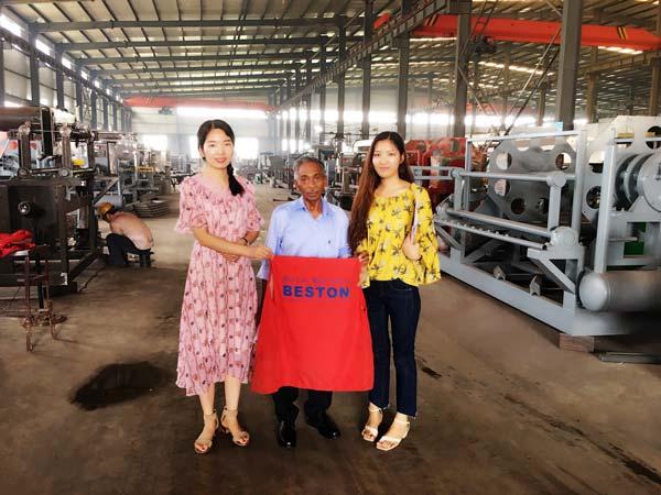 Kuwait Customers Visited We Beston Machinery