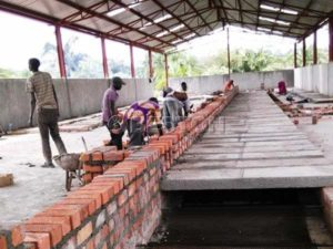 Installing Egg Tray Drying Line in Uganda