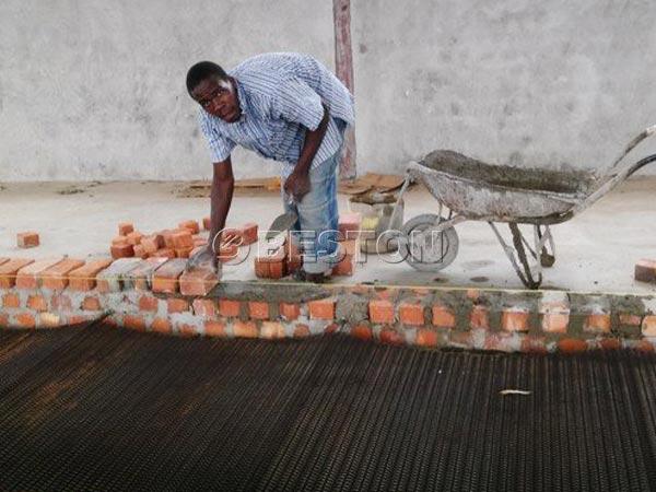 Installing in Uganda