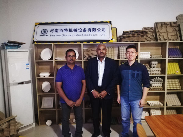 Saudi Arabia Customer Visited Beston