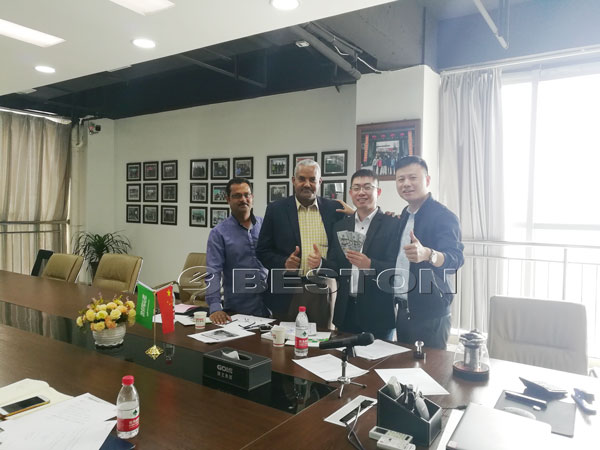 Saudi Arabia signed Contract With Beston Machinery