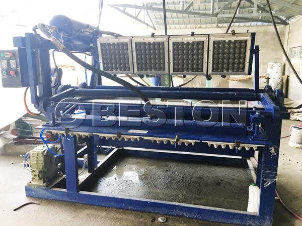 1500pcs Egg Tray Machine