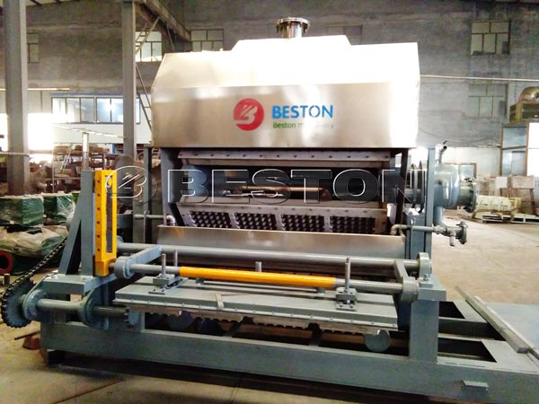Egg Tray Making Machine Shipped To Hungary
