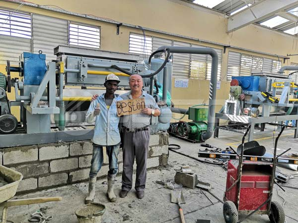 Dominica Customer and Beston Engineer