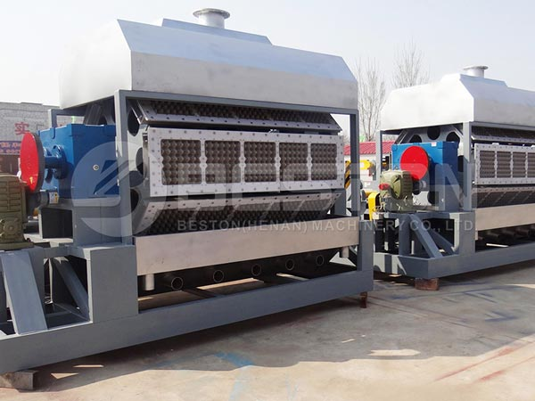 Egg Tray Machine Shipped to Egypt