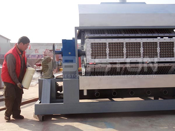 Egg Tray Making Machine to Egypt