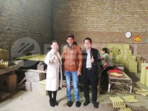 Indian Customer Visited Manufacturing Site