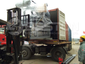 1500pcs Egg Tray Making Machine Shipped To Sudan