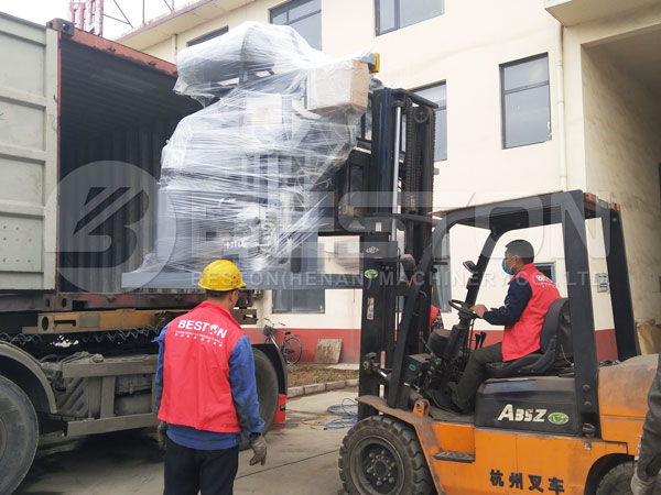 1000pcs Egg Tray Machine To Philippines