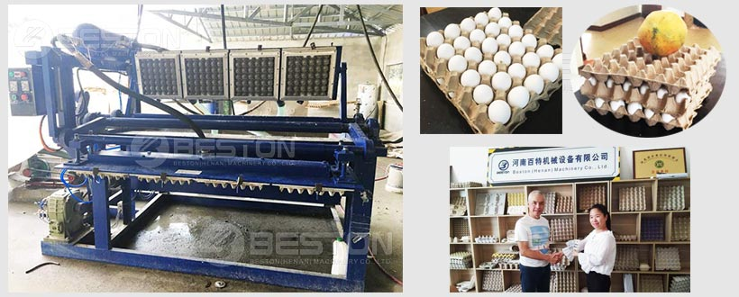 Manual Egg Tray Machine To Philippines