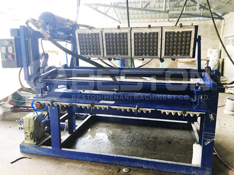 Manual Egg Tray Making Machine