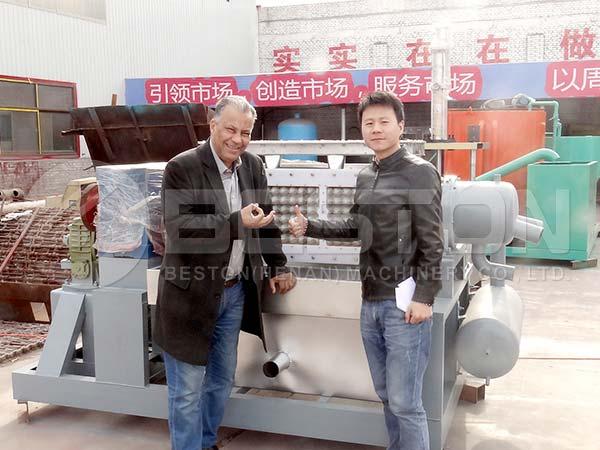 Egg Tray Machine to Algeria