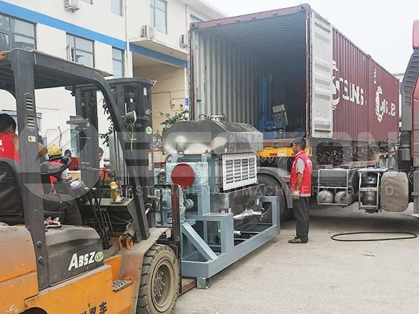 Egg Tray Machine to Indonesia