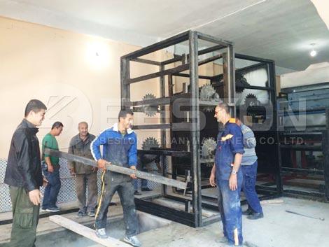 Installing in Algeria