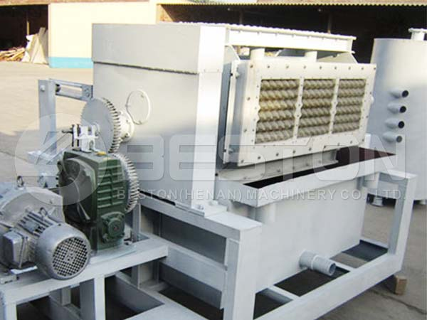 2000pcs Semi Automatic Egg Tray Machine