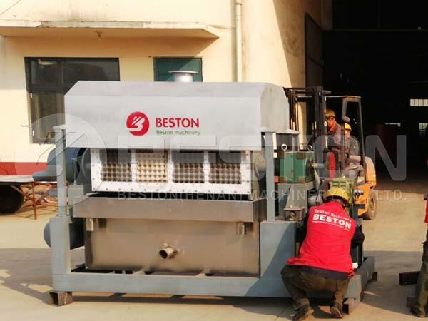 2500pcs Semi Automatic Egg Tray Machine