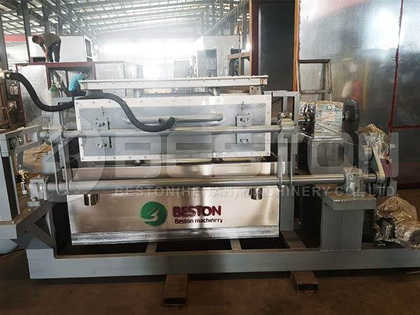BTF-4-4 Egg Tray Making Machine to Bolivia