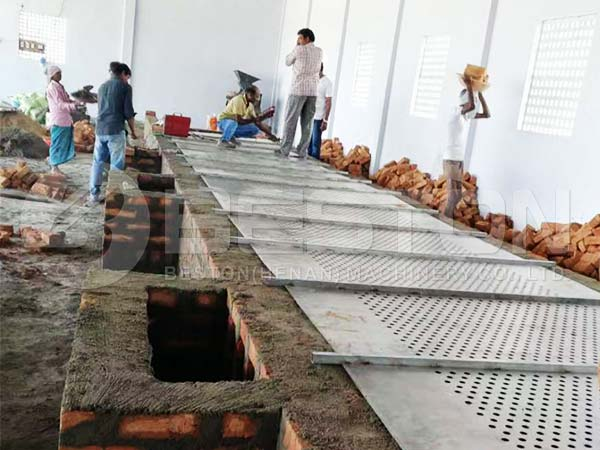 Build Brick Drying Line