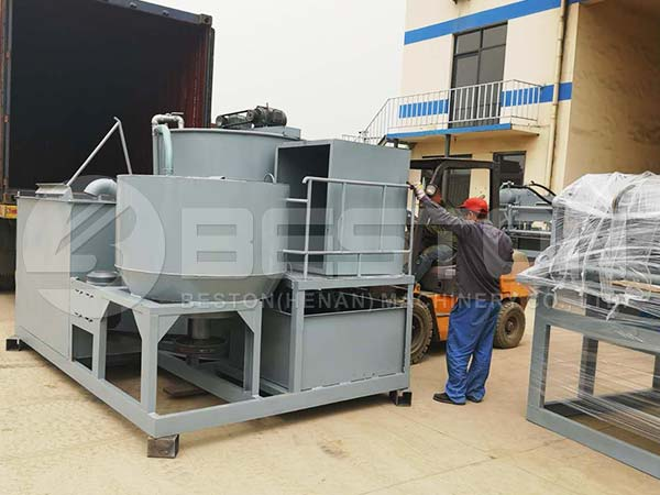 Integrated Pulping Machine