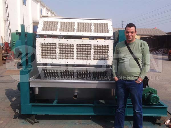 Semi Automatic Egg Tray Machine