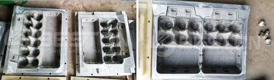 Aluminum Egg Carton Mould