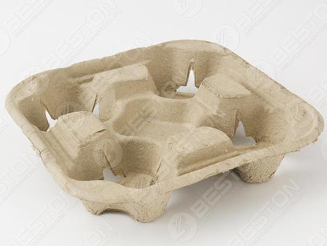 4 Paper Coffee Cup Tray