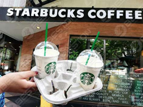 Coffee Cup Carrier Tray