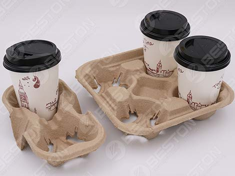 Coffee Cup Holder Tray