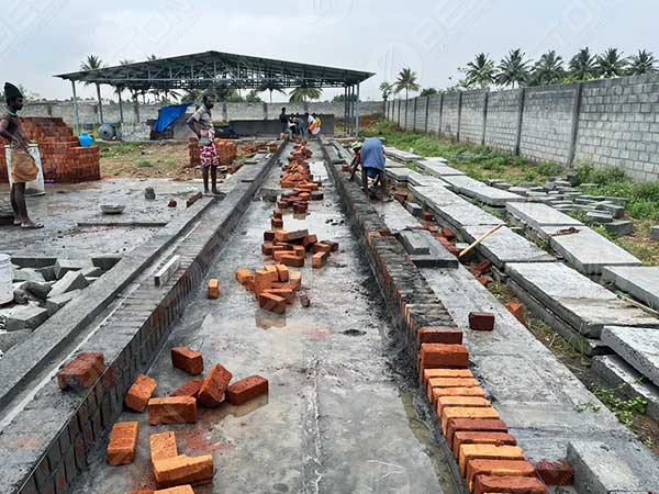 Build Brick Drying Line In India
