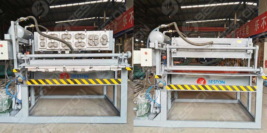 Coffee Cup Tray Making Machine to Kazakhstan