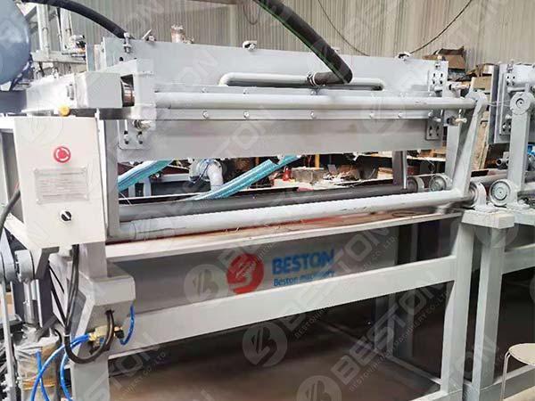 BTF1-4 Egg Tray Machine to Lesotho