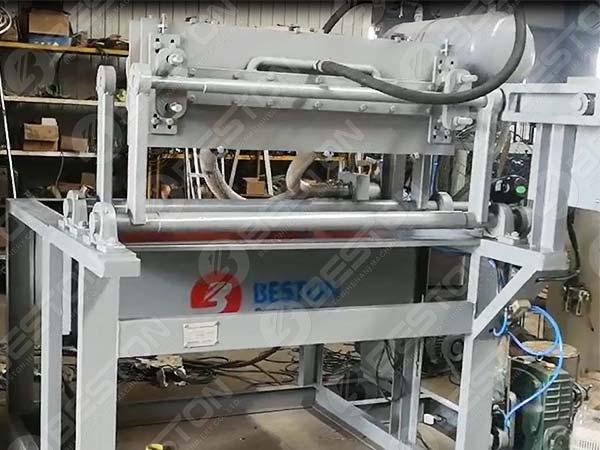 1000pcs Egg Tray Machine to Sudan